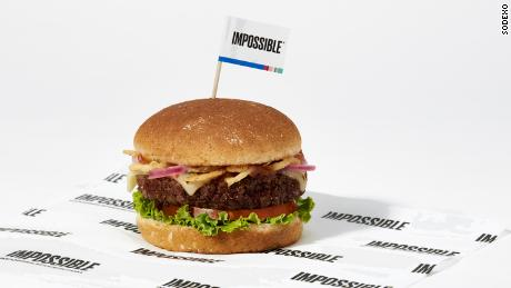 Impossible Burgers are coming to 1,500 cafeterias this fall