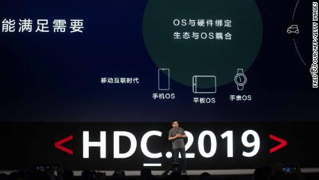 Huawei unveils its rival to Android. It's called Harmony