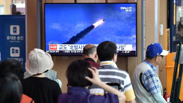 Flipboard: North Korea fires two projectiles into sea off ...