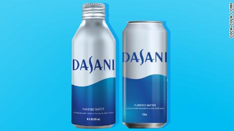 Coca-Cola will sell Dasani in aluminum cans and bottles