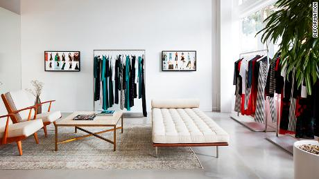 Reformation's San Francisco store is one of the most innovative across retail, experts say.