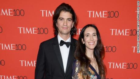 WeWork Co-Founder and CEO Adam Neumann and Rebekah Paltrow Neumann attend the 2018 Time 100 Gala at Jazz at Lincoln Center on April 24, 2018 in New York City.