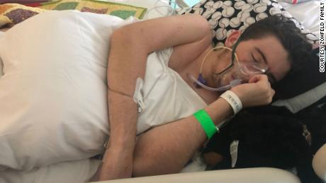 """Tryston said he's not the only one who has faced his medical journey. """"I've seen it on the news pretty much every day since then,"""" he said."""