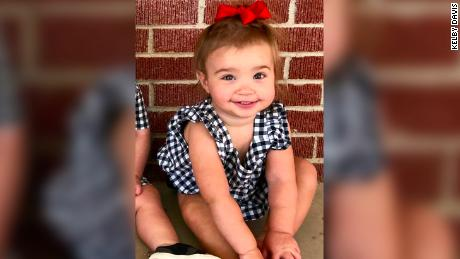 17-month-old girl who was injured in gunfire on Saturday in Odessa, Texas.