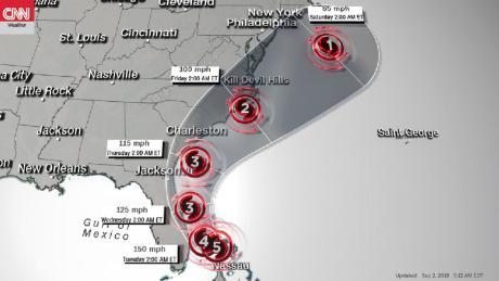 Hurricane Dorian obliterates homes in the Bahamas