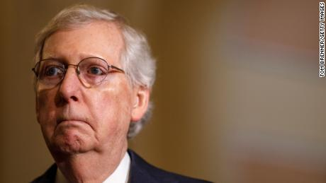 Mitch McConnell's extraordinary efforts to say nothing at all
