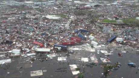 In the Bahamas, shocking scenes of devastation left by the deadly hurricane Dorian