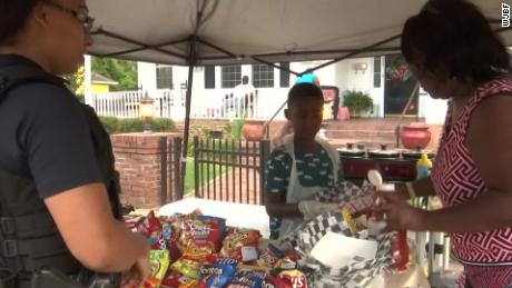 A 6-year-old was saving money to visit Disney World. He spent it on food for Hurricane Dorian evacuees instead