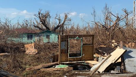In some towns in the east of Grand Bahama Island, residents say the majority of all homes were destroyed. Many people are still looking for relatives taken by the storm.