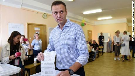 Alexey Navalny's national organization had launched a campaign to promote tactical voting in Russia.