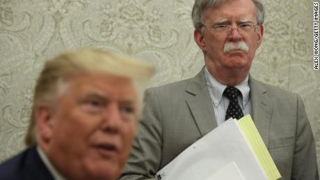 At least 10 names being discussed to replace John Bolton