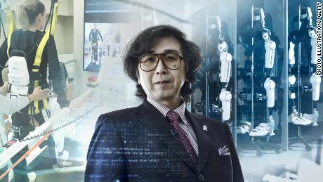 Yoshiyuki Sankai wants to augment humanity with his exoskeleton devices.