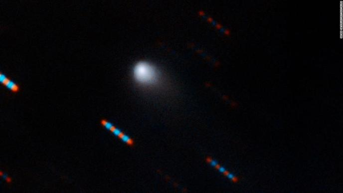 2I/Borisov is the first interstellar comet observed in our solar system and only the second observed interstellar visitor to our solar system.