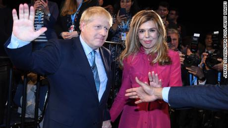 British Prime Minister Boris Johnson and partner Carrie Symonds announce pregnancy and engagement