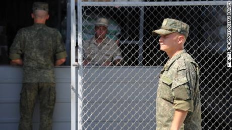 Russian military police are now patrolling the line between Syrian and Turkish forces