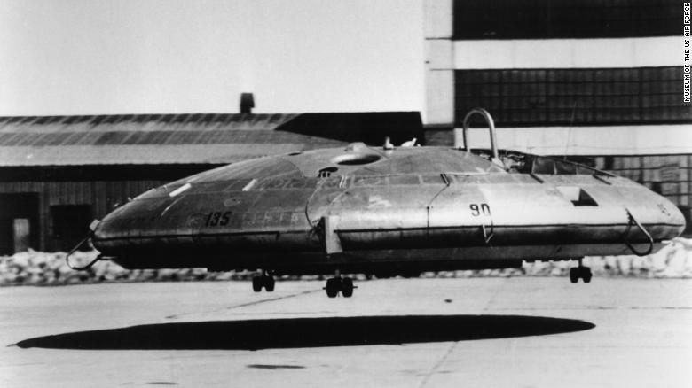 The 1950s US Avrocar was unstable and could reach top speed of only 35 mph.