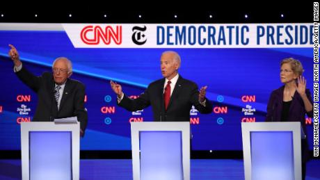 Monmouth poll shows tight race for Democratic nomination