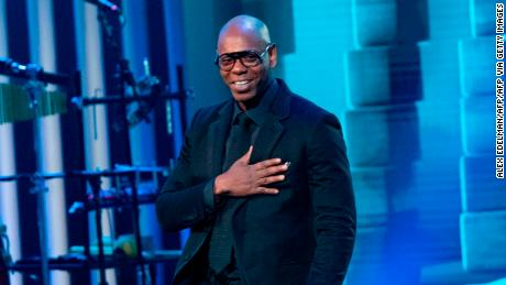 Dave Chappelle says comedy 'saved my life' as he accepts the Mark Twain Prize for American Humor