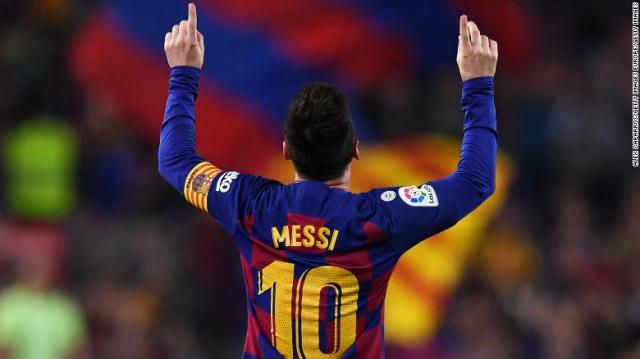 Lionel Messi scores 700th career goal but Barcelona stutter in ...