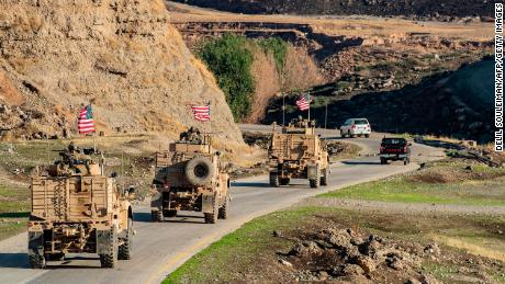 Less than 1,000 US troops will remain in Syria, said joint chief of staff