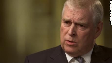 Prince Andrew appeared on the BBC's flagship news programme Newsnight.
