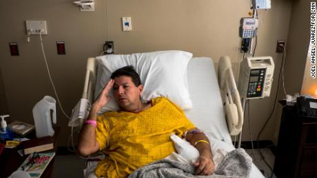 Mario De Alba Montes was taken to a long-term hospital while he waits for another surgery next year.