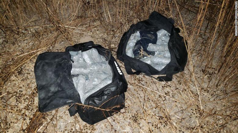 CBP says the teenager was found with 55.84 pounds of methamphetamine.