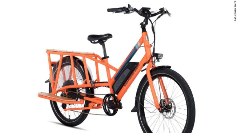 This is an electric bike from Seattle-based Rad Power Bikes.