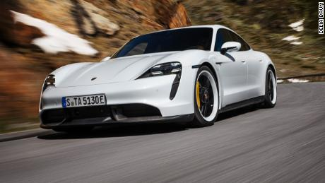 Porsche's first electric car is pricey but insanely fun