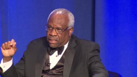 Justice Clarence Thomas says Roe decision doesn't have 'shred' of constitutional support
