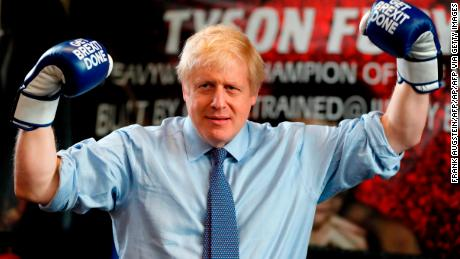 Boris Johnson during the 2019 general election campaign.