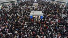 3 billion journeys: World's biggest human migration begins in China