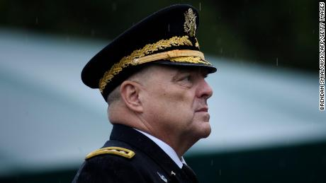 Senior general warns 'division leads to defeat' as Pentagon concerns about politicization grow