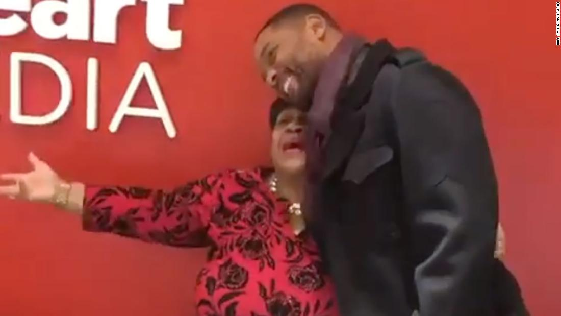 Photo of Will Smith shocked a receptionist to have fun her retirement 30 years after they first met