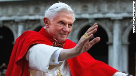 The former pope Benedict takes Francis away from priests and celibacy