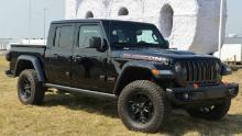 The Jeep Gladiator is based on the Jeep Wranger SUV, but substantial engineering changes were made for the pickup version.