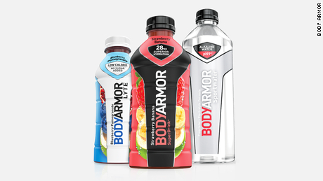 Body Armor is a promising brand of sports drinks.