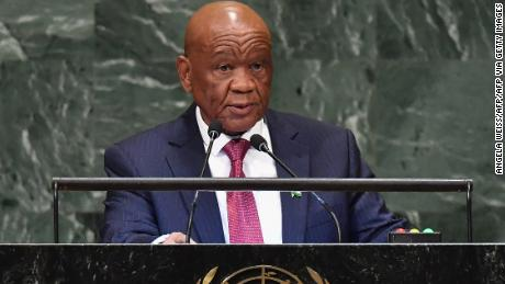 Police in Lesotho want to question Prime Minister Thabane in ex-wife's killing