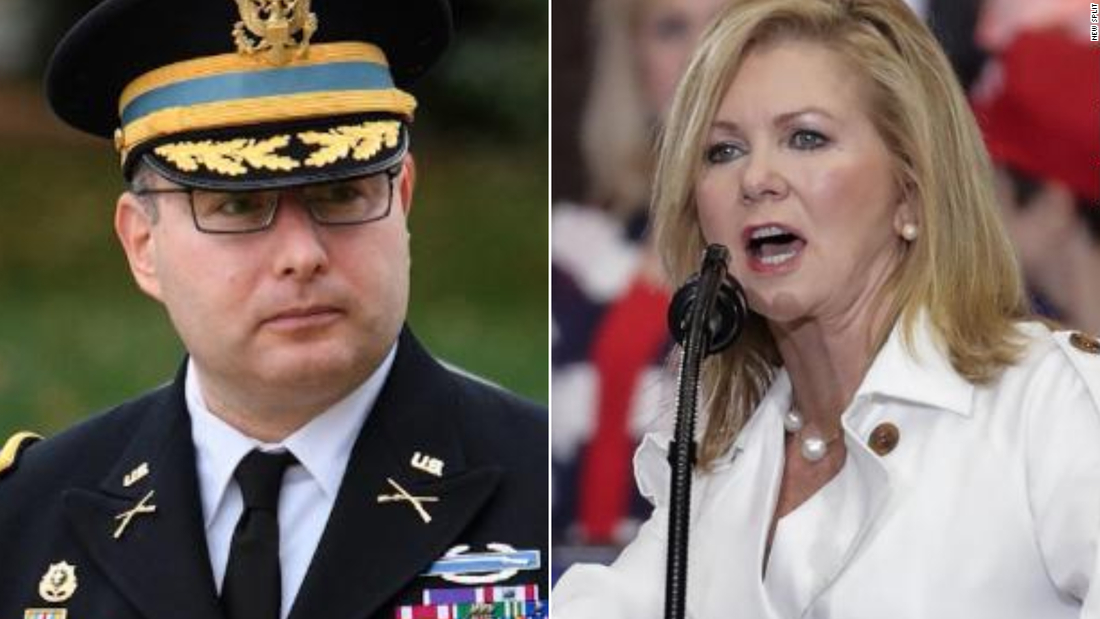 Photo of Pentagon vote to protect Lieutenant Colonel Alexander Vindman tested after Marsha Blackburn attacks veteran