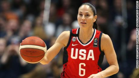 Sue Bird has been an ever present in the US Women's basketball team since making her debut in 2012.