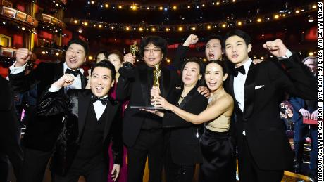Parasites of South Korea & # 39;  Made history by winning Best Picture at last year's Oscar Awards.  (Photo by Matt Petit - Handout / AMPAS via Getty Image)