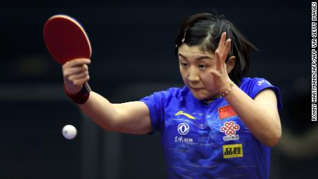 Chen Meng of China was victorious in the German Open.