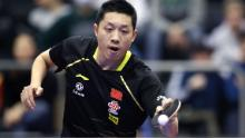 Xu Xin was victorious at the German Open in Magdeburg.