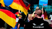 AfD supporters gather in Berlin for a