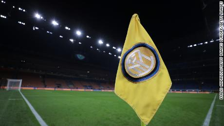 Inter Milan's Europa League match on Thursday could be a jeopardy.