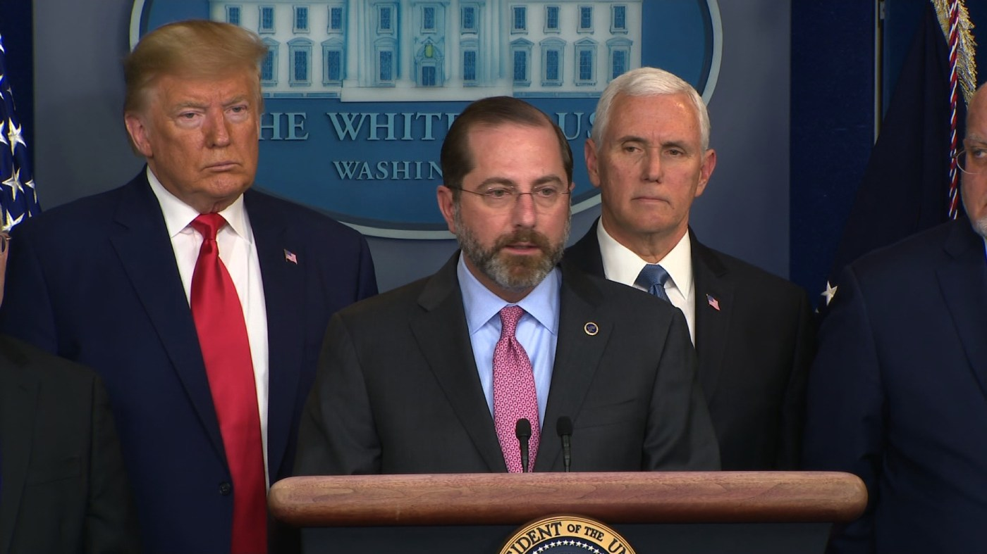 HHS Secretary Azar: From day one this is what we predicted - CNN Video