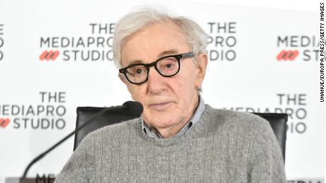 Hatchet draws Woody Allen's autobiography after criticizing Ronan and Dylan Farrow