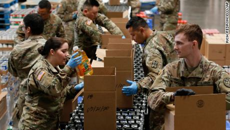 U.S. military prepares to deploy additional forces to support response to coronaviruses