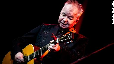 John Prine performs in Hollywood, California, on October 1, 2019.