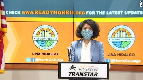 Harris County judge Lina Hidalgo has urged the state to step up testing before considering reopening.